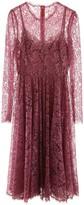 Dolce & Gabbana Lame Lace Midi Dress