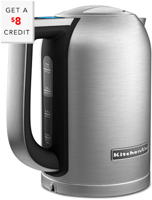 KitchenAid 1.7L Electric Kettle With Led Display - Kek1722sx With $8 Credit