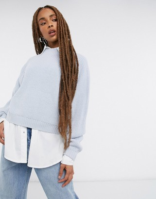 Threadbare chloe crew neck jumper