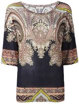 Etro printed loose-fit T-shirt