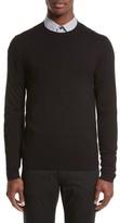 Armani Collezioni Men's Plated Crewneck Sweater