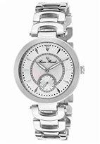Lucien Piccard Women's LP-10268-22 Casablanca Analog Display Silver-Tone Watch