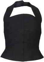 Chanel Fitted bustier halter top