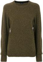 Joseph crew neck textured sweater