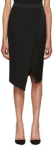 Pallas Black Barbara Wrap Skirt
