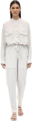 Etoile Isabel Marant Jaya Desert Cotton Jumpsuit