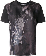 Salvatore Ferragamo printed satin-twill T-shirt