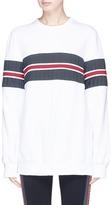 NO KA 'OI No Ka'Oi Pleated trim sweatshirt