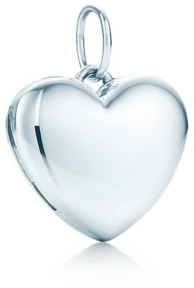 Tiffany & Co. Heart locket in sterling silver, small