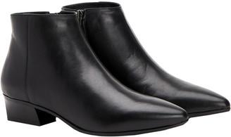 Aquatalia Fosca Weatherproof Leather Bootie