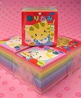 Aitoh Origami Paper- Mini Mini Set Of 500 Sheets 1-1/16 Inch Square