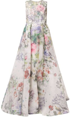 Saiid Kobeisy Embellished Two Piece Dress