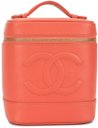 Chanel Pre Owned CC vanity case