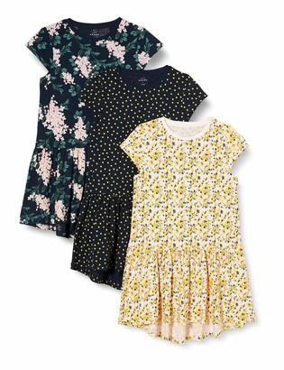 Name It Girls' NKFVIGGA 3P CAPSL Dress KK