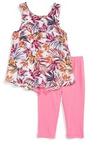 Splendid Girl's Print Top & Leggings Set