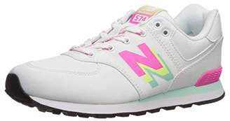 New Balance Girls 574v1 Lace-Up Sneaker