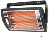 Comfort Zone CZQTV5M Ceiling Mount Quartz Heater ,Black, 1500 Watts