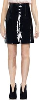 Vince Camuto Faux Patent Leather Skirt