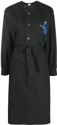Loewe Embroidered Tunic Shirt Dress