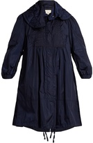 Moncler Cabannes pleated coat
