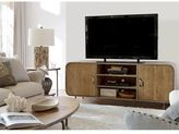 Universal Furniture Moderne Muse Waterfall Media Console in Bisque Finish