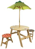 Teamson Kids Fantasy Fields Sunny Safari Outdoor Table & Chairs