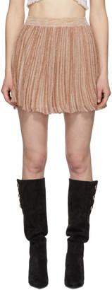 Isabel Marant Gold Brayton Skirt