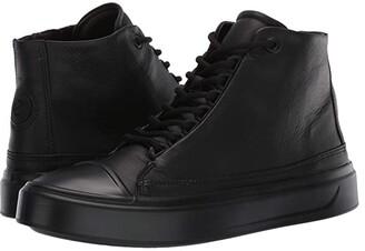 Ecco Flexure T-Cap High Top (Black) Women's Shoes