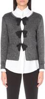 Claudie Pierlot Mignon metallic cardigan