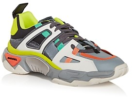 Diesel Men's S-Kipper Color Block Low Top Sneakers