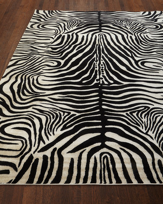 Barclay Butera Dariya Power-Loomed Zebra Rug, 5.3' x 7.5'