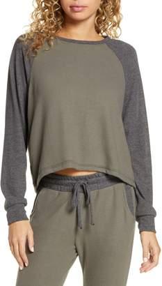 Project Social T Chelsea Colorblock Raglan Sleeve Sweatshirt