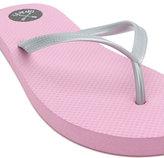 LA Hearts Eva Coloblock Blush Sandals
