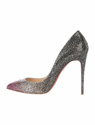 Christian Louboutin So Kate Strass Pumps multicolor