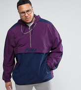 Puma Plus Vintage Half-Zip Jacket In Purple Exclusive To Asos
