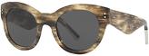 Burberry BE4229 Cat's Eye Sunglasses