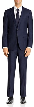 BOSS Huge/Genius Small Tonal Check Slim Fit Suit - 100% Exclusive