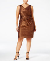 Calvin Klein Plus Size Metallic Dress