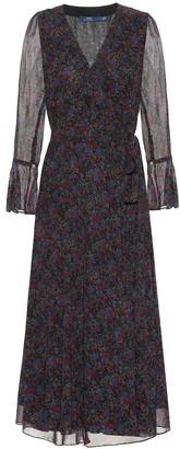 Polo Ralph Lauren Floral georgette wrap dress