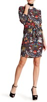 Love Moschino Patterned Boatneck Dress