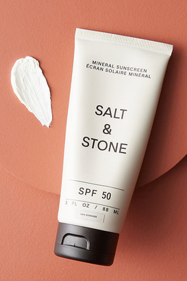 Salt & Stone SPF 50 Mineral Sunscreen Lotion By SALT & STONE in White