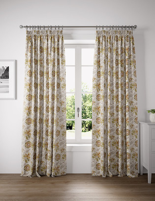 Marks and Spencer Linda Floral Curtains