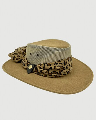 Jacaru - Brown Hats - Jacaru 1023 Horizon Hat - Size One Size, XL at The Iconic