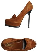Yves Saint Laurent YSL RIVE GAUCHE Moccasins with heel