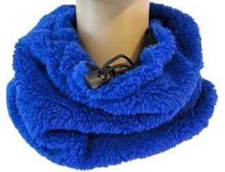 Strawberry Hill Cottage Rockjock Unisex Reversible Soft Faux Fur Snood/Neck Warmer/Scarf - 4 colours (Blue)