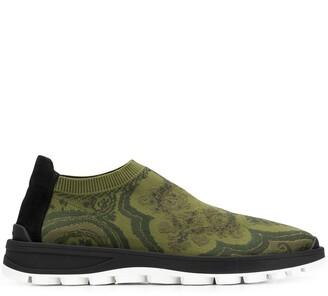 Etro Jacquard Sock Sneakers