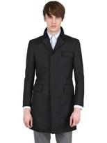 Thom Browne Wool Gabardine Coat