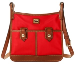Dooney & Bourke Wayfarer Camden Nylon Double Pocket Crossbody