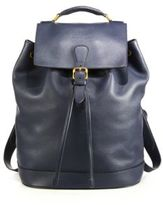Burberry Riverton Leather Backpack