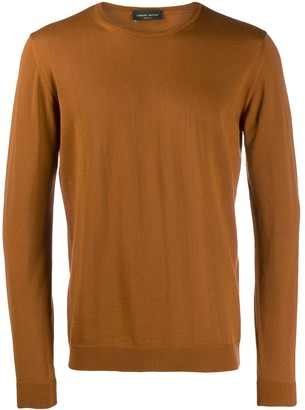 Roberto Collina knitted roundneck sweater